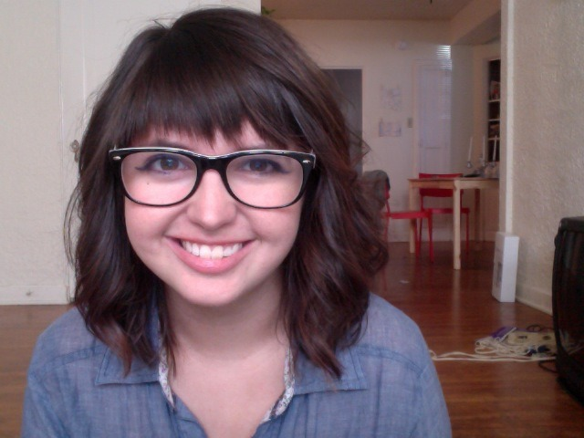 Straight across bangs are bangin'  got the hur did today