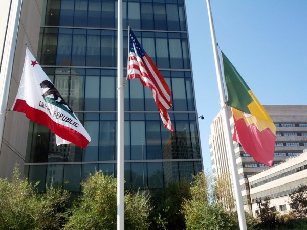 Mayor Antonio Villaraigosa ordered flags in Los Angeles to fly at half-staff to honor John Christopher Stevens, the United States Ambassador to Libya, and the three American personnel killed in the tragic attack on our embassy in Benghazi. Our hearts go out to their families and to all service members who daily work around the globe to make the world a safer place.