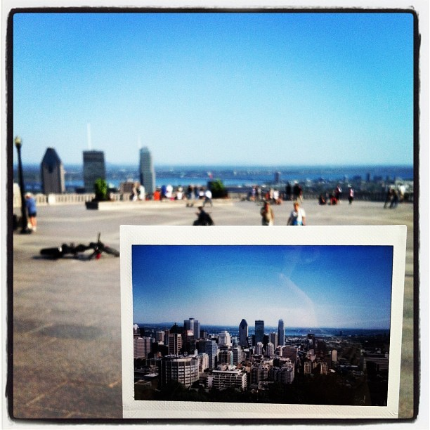 Inception instax gram (Taken with Instagram at Sommet Mont-Royal)