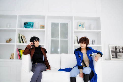 sweetandmakeup:  Lelouch Lamperouge and Suzaku Kururugi