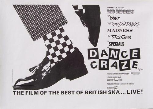 Dance Craze, the poster, one of the greatest films ever made, apart from Quadrophenia!
