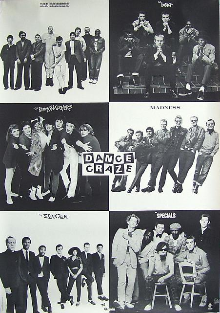 Dance Craze inner sleeve of album photos