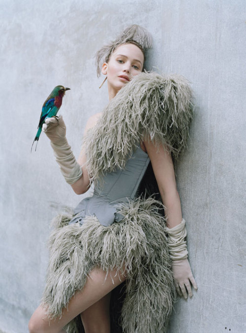 bohemea:  Jennifer Lawrence - W by Tim Walker, October 2012