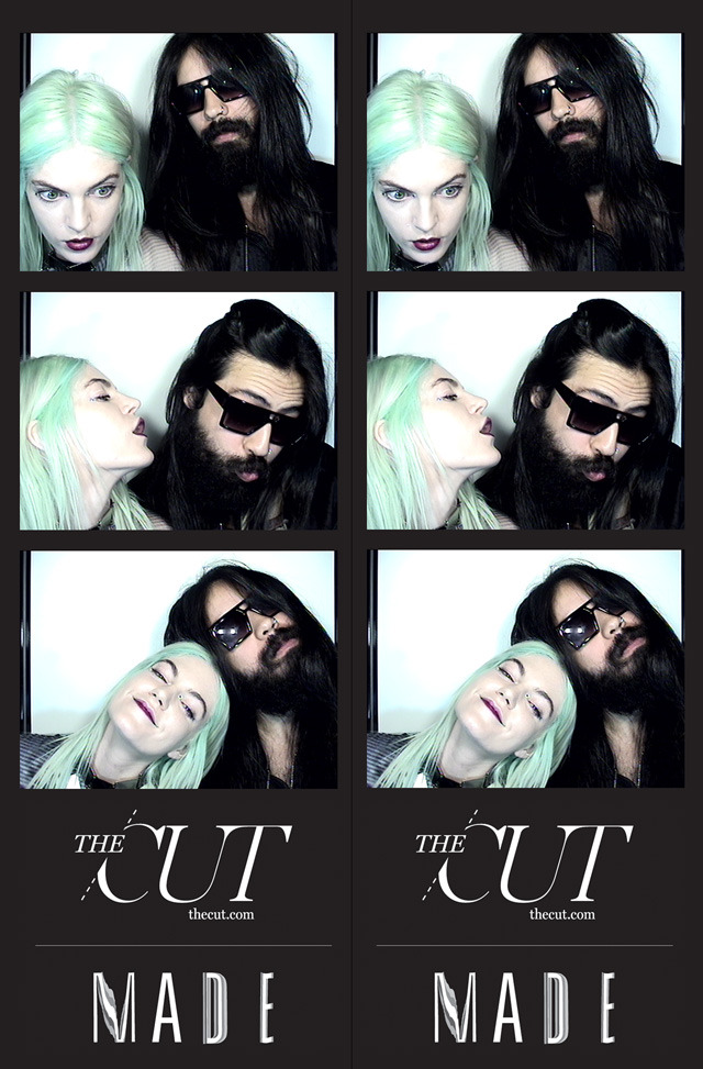 The Cut's Photo Booth Photo booths are the coolest things in the known universe. It's a fact. The Cut was cool enough to keep theirs at Milk Studios for fashion week… which made for some extremely awesome/strange moments. Check em out on Milk Made