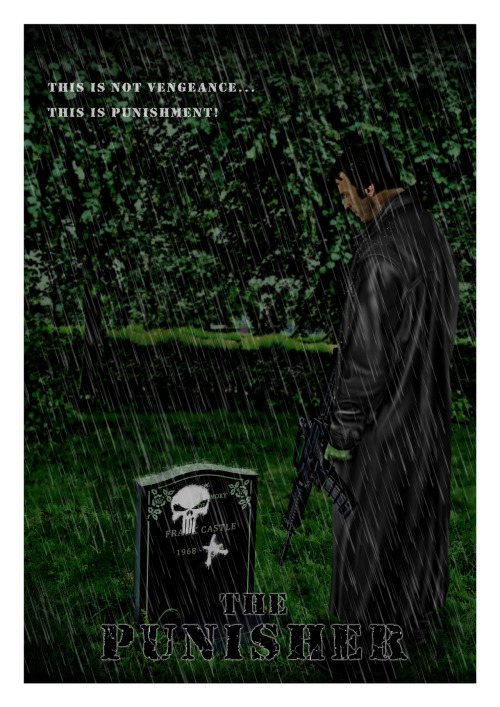 The Punisher by Ferenc Konya