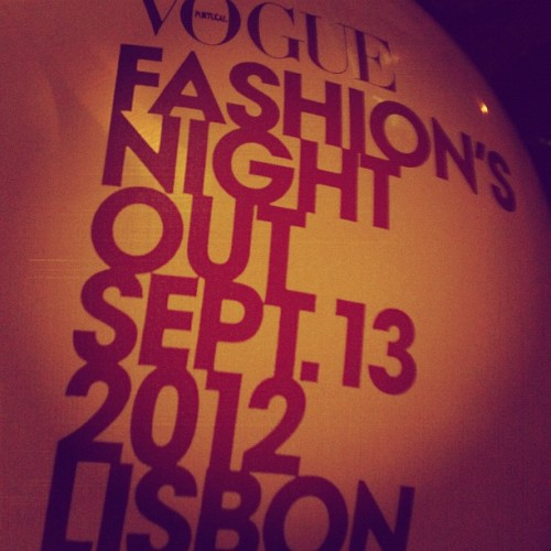 Vogue Fashion Night Out Baby!!!! Wooooohoooo (Taken with Instagram)