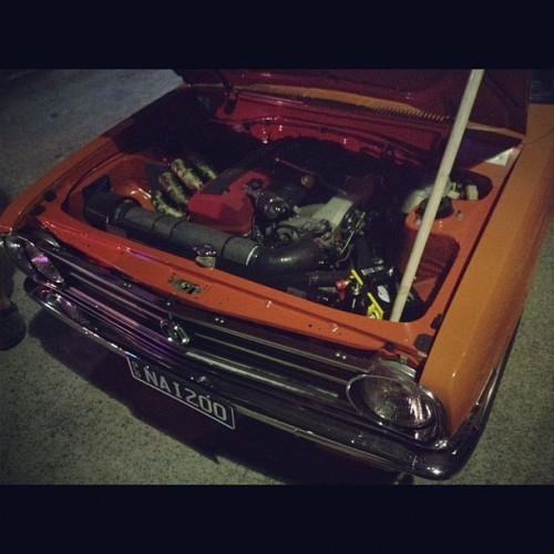 downshiftaus:  F20C in a Datsun 1200? Yeah that just happened, keep an eye out for a feature in the near future. #nissan #datsun #1200 #sedan #oldschool #honda #s2000 #f20c #waytoofuckingcool #seriouslyhowbossisthis  (Taken with Instagram)