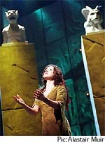 Promotional image of Tina Arena as Esmeralda - British Production