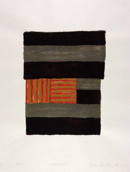 Sean Scully (1945) NARCISSUS, 1984.