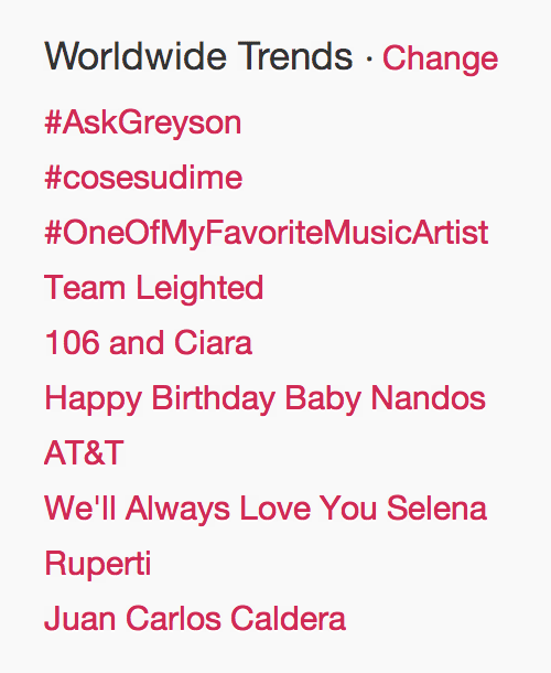 Team LeightEd trending worldwide!