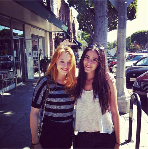 @jackie_emerson So much fun at lunch with @isabellefuhrman! Can't wait for yoga :) http://instagram.com/p/PiBE9DCe12/