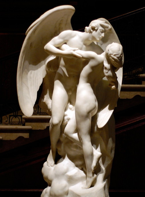 Daniel Chester French (American, 1850-1931), The Sons of God Saw the Daughters of Man that they were Fair, 1923. Corcoran Gallery, Washington, D.C.