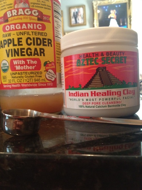 indian healing clay apple cider vinegar