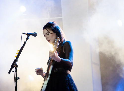 Kate performing at Bestival 2012 (by Jule)