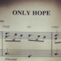 Piano recital piece :D #only #hope #a #walk #to #remember #love #excited #ahhh #exclamation #point  (Taken with Instagram)