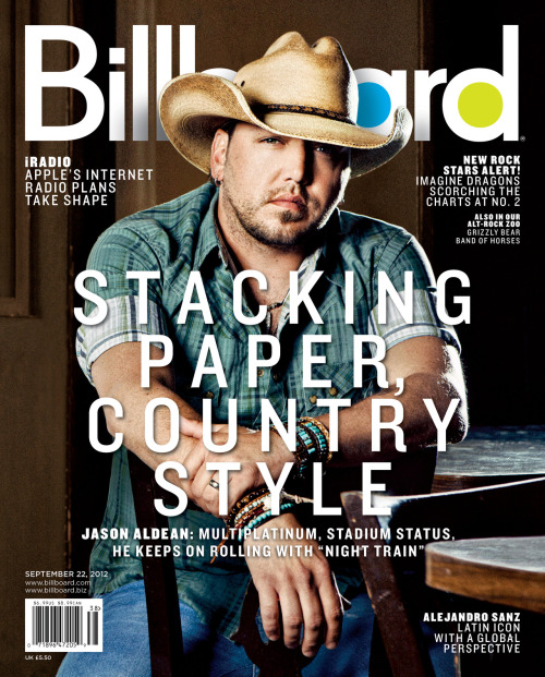 The latest issue of Billboard magazine features country star Jason Aldean. Get a first look at the cover and click here to subscribe!