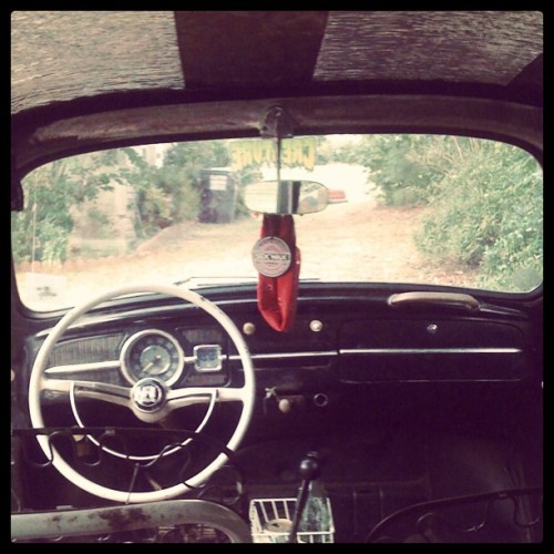 Day 13: Dashboard #jdmphotoaday #jdmaf #europhotoaday #vw #bug #beetle #waytoomanyhashtags (Taken with Instagram)