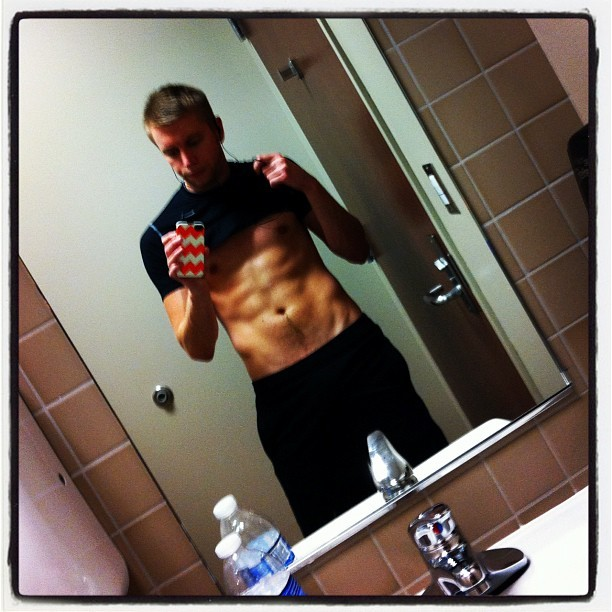 #photos #me #gym #gay #abs #progress #fitness #ymca #guy #boy #instagay #igers #ifoundthem (Taken with Instagram)