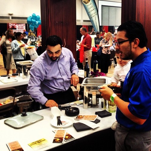 We're running strong at the #tastingthetown event! (Taken with Instagram)