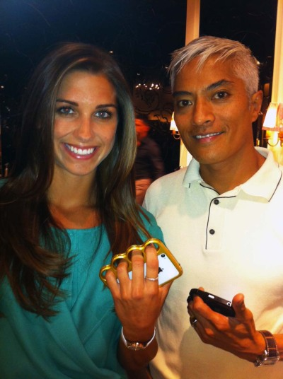 Gorgeous Alex Morgan USA Soccer Gold Medalist 2012 London Olympics Feeling the Gold Knucklecase !