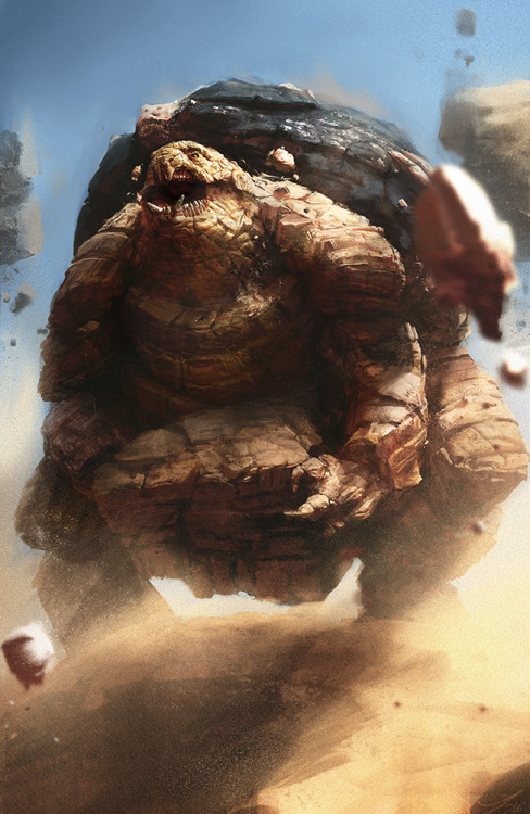 fuckyeahnintendofanart:  Golem used Rock Slide! by ~TwoDD