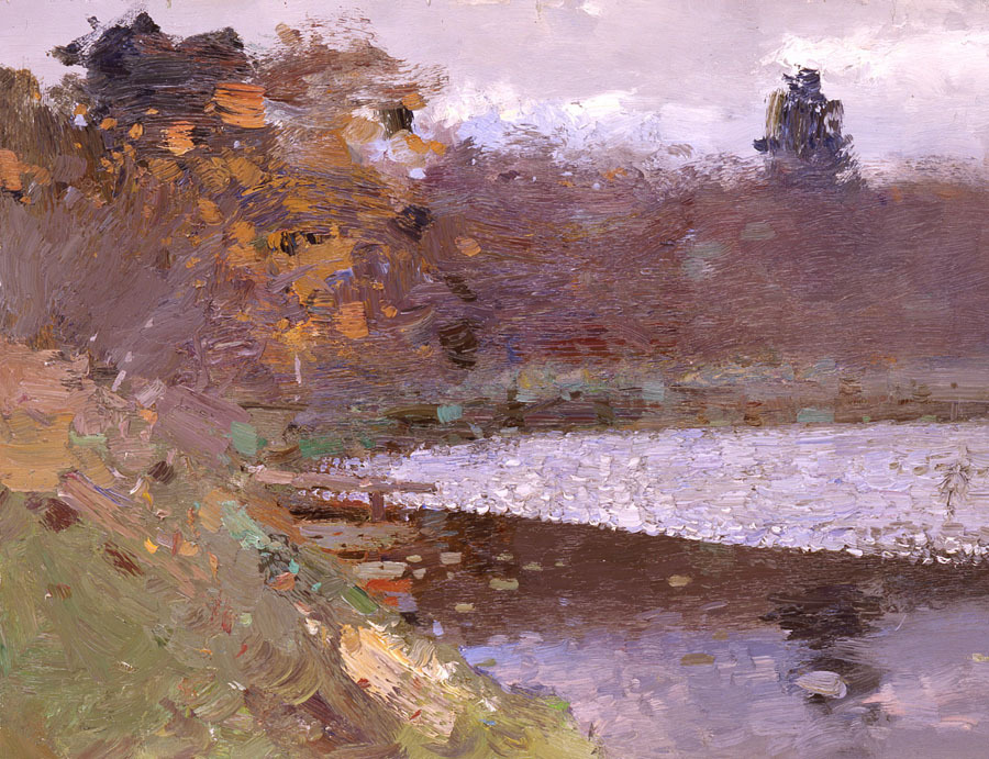 (via On the dam - Bato Dugarzhapov - Sale of paintings and other art works)