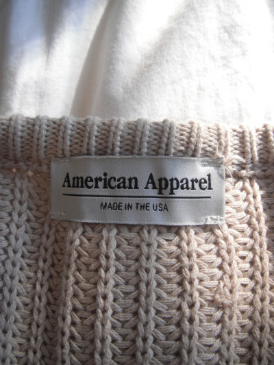 Browse custom American Apparel products.