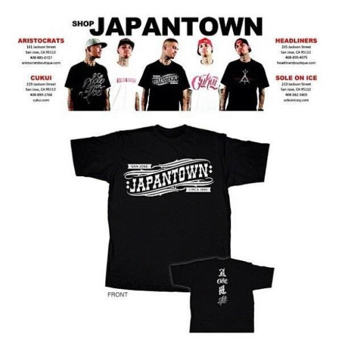#japantown #collab releasing tomorrow #cukui #aristocrats #soleonice #headliners #blocklife #sanjose  (Taken with Instagram at JapanTown (日本町))