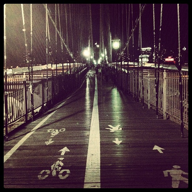 Taken with Instagram at Brooklyn Bridge Promenade