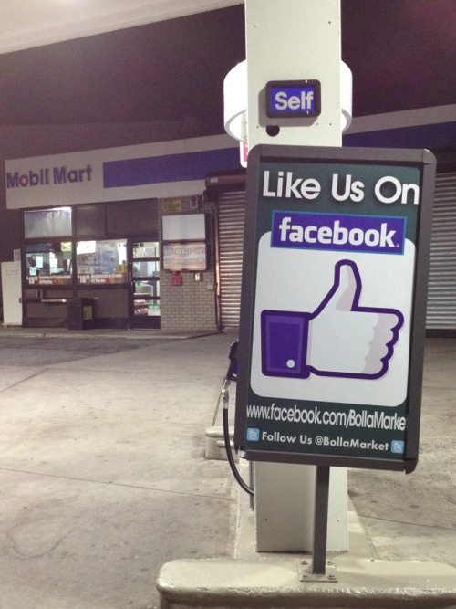 Everyone should like and follow this Mobil Mart on Facebook and Twitter.