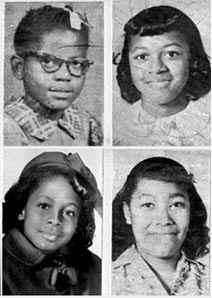 September 15 1963: on this day the 16th Street Baptist Church bombing: Four children killed at an African-American church in Birmingham, Alabama