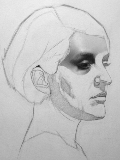 pointa-patb:  work in progress…graphite on paper