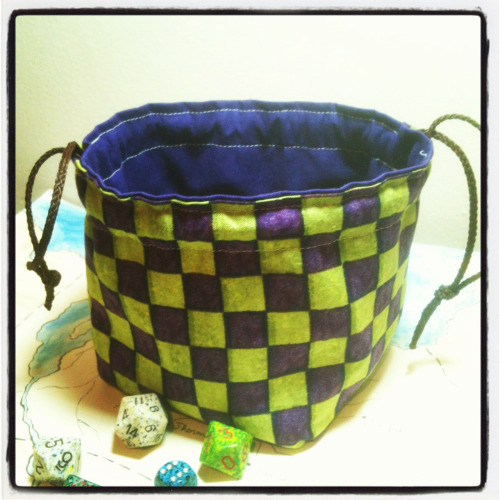 Anyone want to buy 5-6 Greyed Out dice bags so I can get the new IKRPG from my friendly local game store next week?   Check out greyedout.etsy.com for all your dice bag needs! Coupon DFTBA gets you 16% off your order!