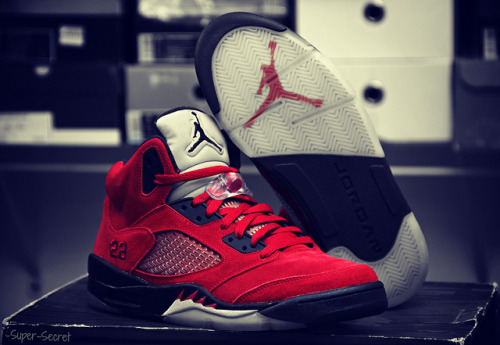 justjordans:  Raging Bull: Red Suede by Super - Secret, on Flickr