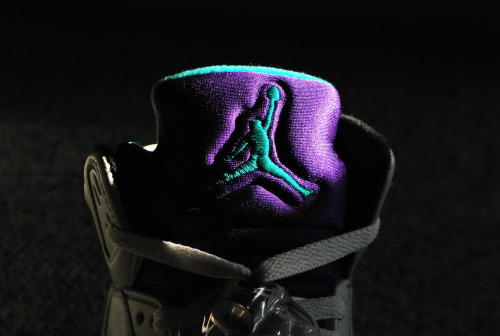 justjordans:  Grapes.  Air Jordan V by Nikolas