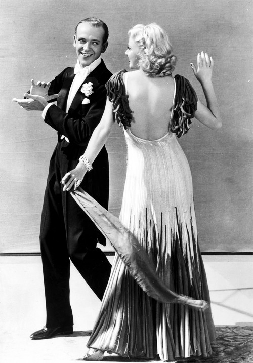marthaivers:  Fred Astaire and Ginger Rogers in The Gay Divorcee (1934)