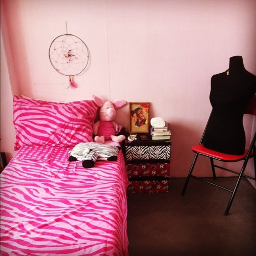 Look zibra print ;) #love #dorm #room  (Taken with Instagram)
