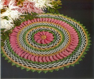 Antique Multicolor Doily pattern