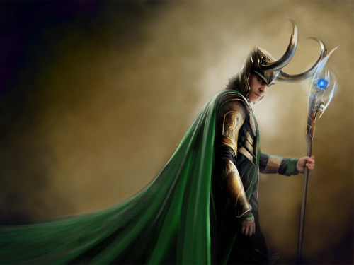 LOKI Desktop Wallpaper by *chermilla Click-through for 1600 x 1200 size.