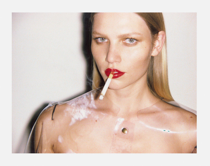 tobaccochic:   Aline Weber by Ezra Petronio for Self Service #33