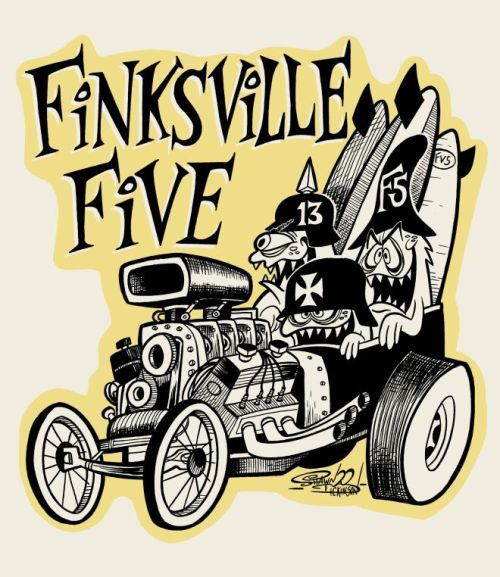 cryptofwrestling:  Finksville Five decal - Shawn Dickinson