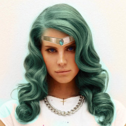 <3 Lana del Rey as Sailor Neptune HAHAHAHA so much win <3