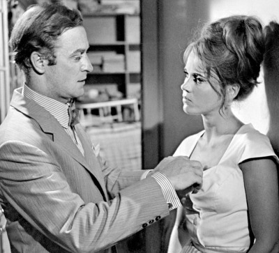 Michael Caine and Jane Fonda