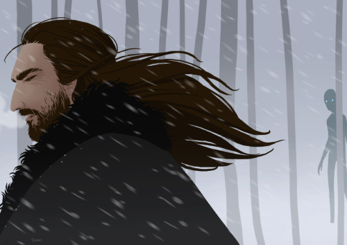 Here's another Benjen, because there isn't nearly enough of him in the series :P I don't know what really happened to him beyond the wall, but here's one idea… -Tami