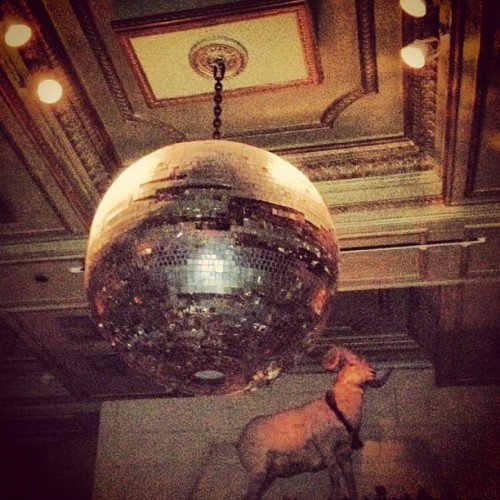 Disco ball action #janehotel #nyc #hotcarl (Taken with Instagram at The Jane Hotel)