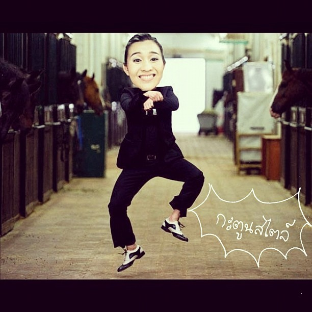 #gangnamstyle *ver.2  (Taken with Instagram)