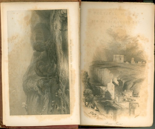 Sir Walter Scott, Poetical Works, Edinburgh, 1833. 12 vol. Illustrated by J.M.W. Turner.
