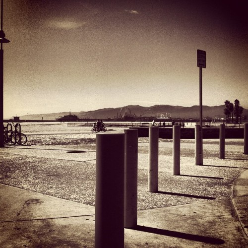 Scattata con Instagram presso Santa Monica Beach Tower 20