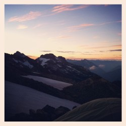 Perfection. #mountains #sunrise  (Taken with Instagram)