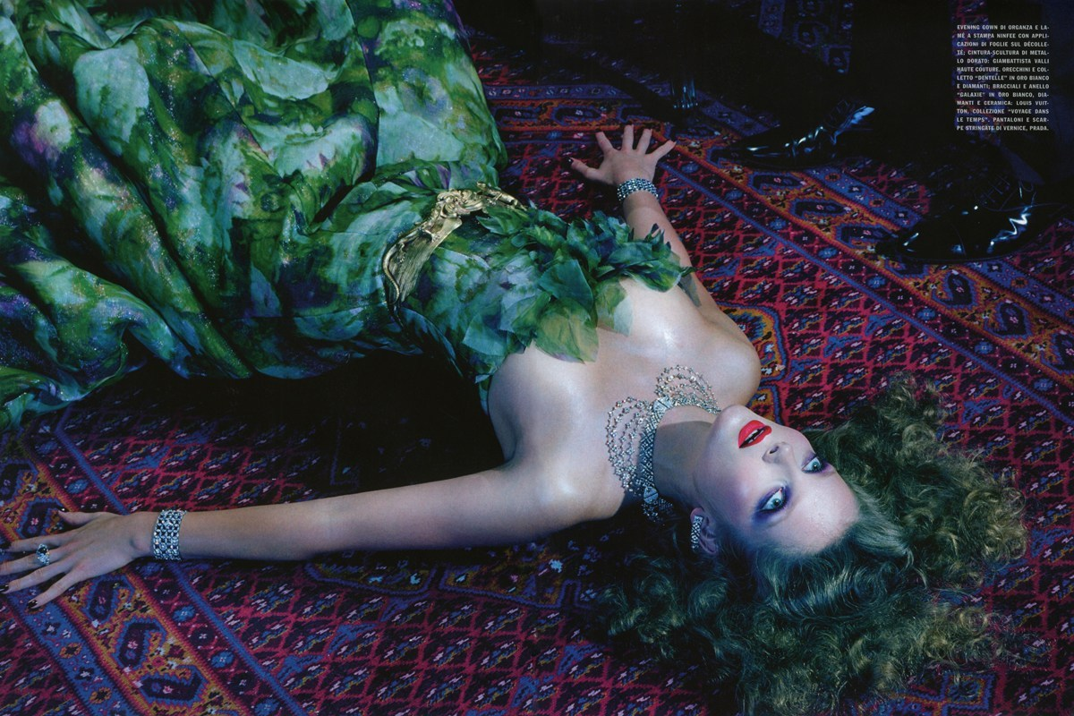 Eniko Mihalik: So Magical So Mysterious - Vogue Italia by Miles Aldridge, September 2012